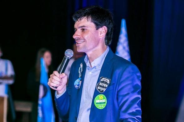 Delegado Ulisses Gabriel mostra força durante lançamento oficial de sua campanha