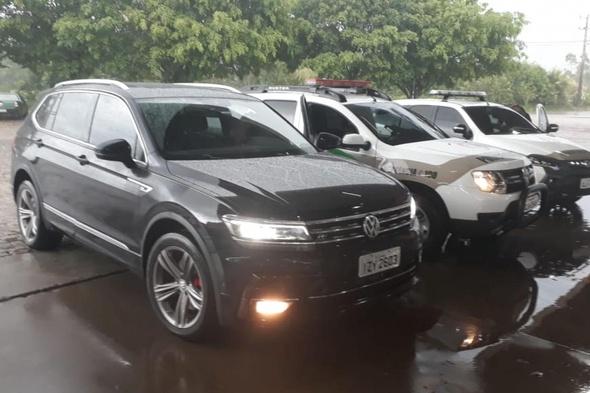 Polícia Militar prende assaltante e recupera veículo roubado em Criciúma